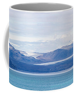 Black Glacier Panorama Coffee Mug