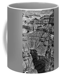 Black Grand Canyon IIi Coffee Mug by Chuck Kuhn