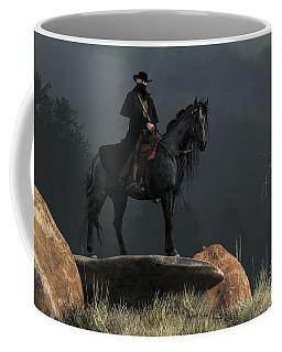 Black Hat Coffee Mug by Daniel Eskridge