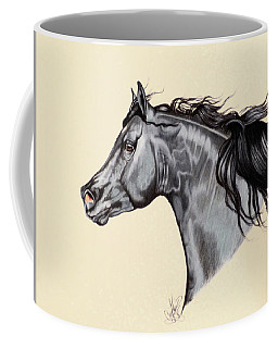 Black Horse Head Study 7 Coffee Mug