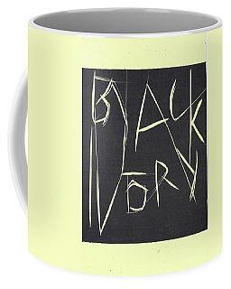 Black Ivory Title Page Coffee Mug