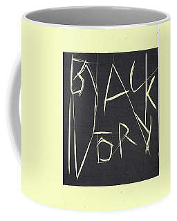 Black Ivory Title Page Coffee Mug