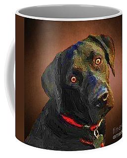 Black Lab Goes To The Studo Coffee Mug