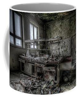 Coffee Mug featuring the digital art Black Lab by Nathan Wright