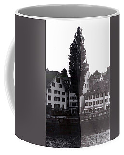 Black Lucerne Coffee Mug by Christian Eberli