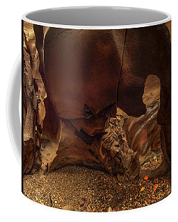 Coffee Mug featuring the photograph Black Magic Canyon Form by Leland D Howard