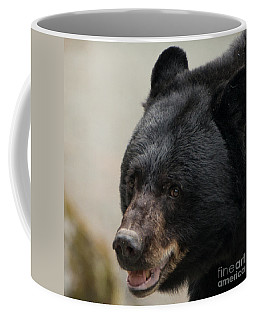 Black Mother Bear Juneau Alaska Coffee Mug