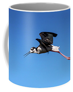 Black Necked Stilt Coffee Mug