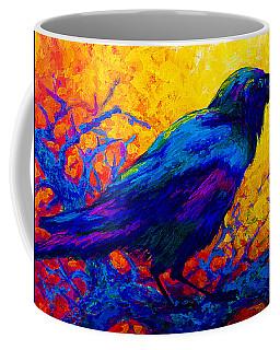 Black Onyx - Raven Coffee Mug