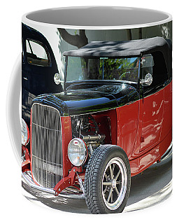 Coffee Mug featuring the photograph Black Over Red H R by Bill Dutting