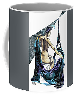 Black Pearl Of Paris Coffee Mug