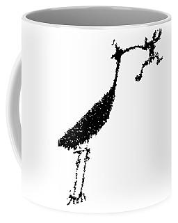 Black Petroglyph Coffee Mug