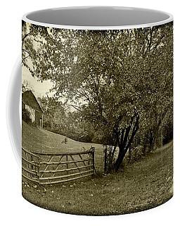 Black -pugh's Mill Covered Bridge Coffee Mug