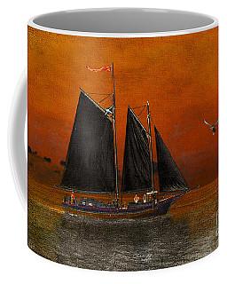 Black Sails In The Sunset Coffee Mug
