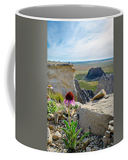 Black Sampson In The Badlands Coffee Mug
