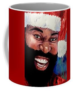 Black Santa Coffee Mug