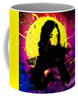 Black Scarf Coffee Mug
