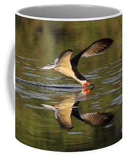 Black Skimmer Fishing Coffee Mug