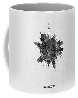 Black Skyround Art Of Moscow, Russia Coffee Mug