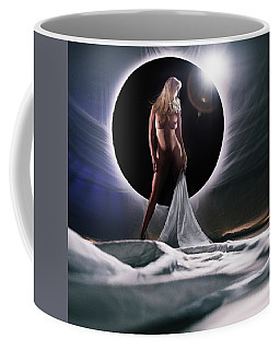 Black Star Center Coffee Mug