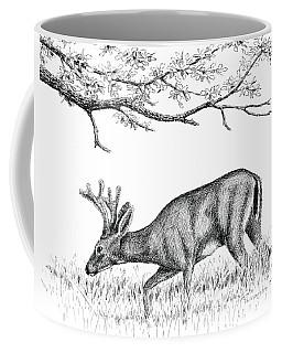 Black Tail In Velvet Coffee Mug