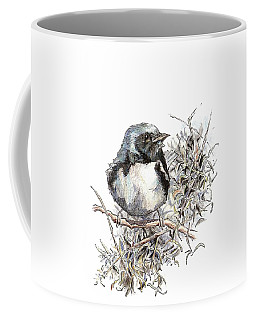Black-throated Blue Warbler Coffee Mug