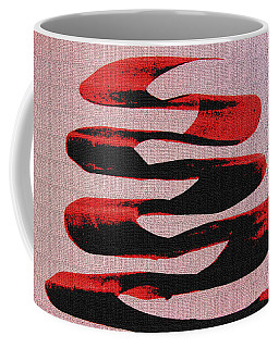 Black Walnut Ink Abstract #10 Coffee Mug