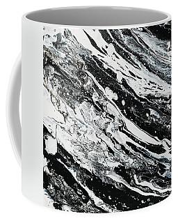 Black White Modern Art Coffee Mug