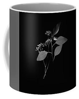Floating Black And White Coffee Mug