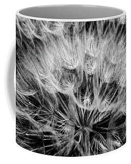 Black Widow Dandelion Coffee Mug by Iris Greenwell