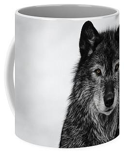 Black Wolf I Coffee Mug