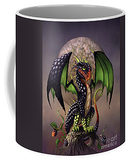 Blackberry Dragon Coffee Mug by Stanley Morrison