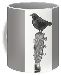 Blackbird Solo  Coffee Mug by Meagan  Visser