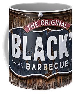 Blacks Barbecue Sign #1 Coffee Mug