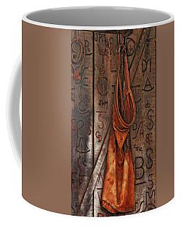 Coffee Mug featuring the photograph Blacksmith Apron by Rowana Ray