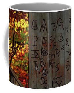 Coffee Mug featuring the photograph Blacksmith Board by Rowana Ray