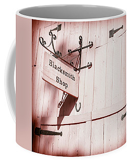 Coffee Mug featuring the photograph Blacksmith Shop by Alexey Stiop