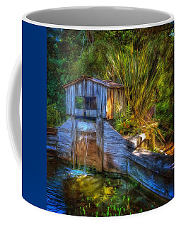Coffee Mug featuring the photograph Blakes Pond House by Thom Zehrfeld