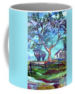 Blanco Texas Ranch House Coffee Mug