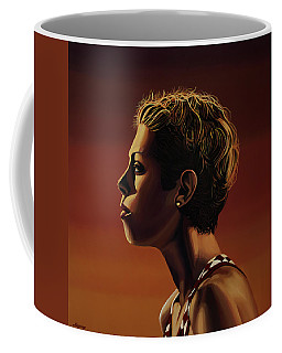 Blanka Vlasic Painting Coffee Mug