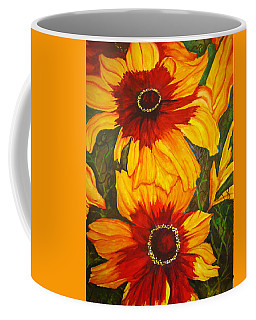 Blanket Flower Coffee Mug by Lil Taylor