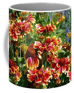 Blanket Flowers Coffee Mug by Sharon Talson