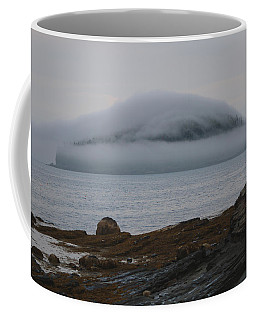 Blanket Of Fog Coffee Mug by Living Color Photography Lorraine Lynch