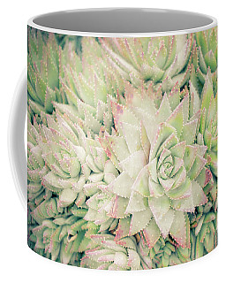 Coffee Mug featuring the photograph Blanket Of Succulents by Ana V Ramirez