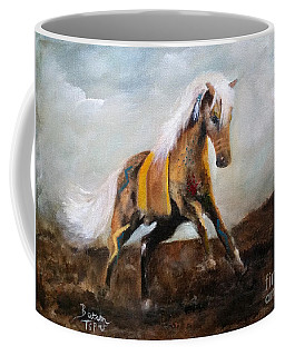 Blanket The War Pony Coffee Mug