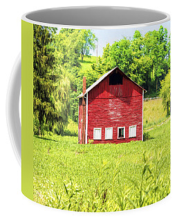 Blazing Barn Coffee Mug