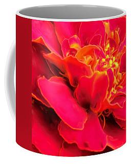Blazing Pink Marigold Coffee Mug