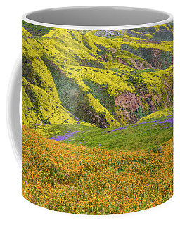 Blazing Star On Temblor Range Coffee Mug