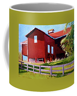 Bleak House Barn No. 3 Coffee Mug by Catherine Twomey