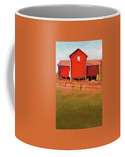 Bleak House Barn No. 4 Coffee Mug by Catherine Twomey